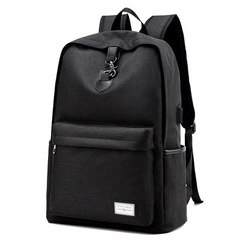 Fashion Men's Backpack /Men's Travel Bag/ Backpack / Tablet PC Bag /School Bag black one size