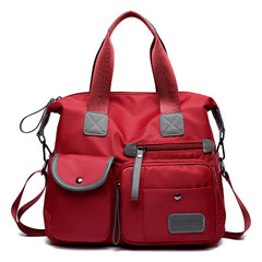 Europe and America Fashion Shoulder Bag /Travel Bag/Shopping Bags/Women's Bags red one size