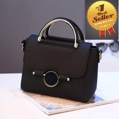 Fashion Women Wristband Bag/ Shoulder Crossbody Bags  /  High Quality Leather Bag / Boutique Bag black one size