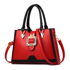 Hot Sale Europe and America Fashion Leather Handbag / Shoulder Bag /Women's Bags red one size