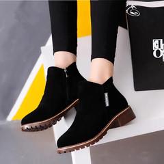 Women Ankle Boots Short Martin Boots/  Heels Boots black 40