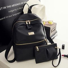 Fashion Backpack Bags / Female Backpack/ Ladies Backpacks / Bookbags black 25cm*10cm*30cm