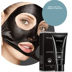 Makeup Natural Bamboo Charcoal Clean Black Head  Mask 60g as  picture