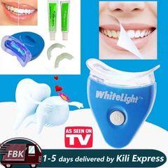 Dental Teeth Whitening Light LED Bleaching Gel Kits Dental Brightening Teeth Whitening Blue