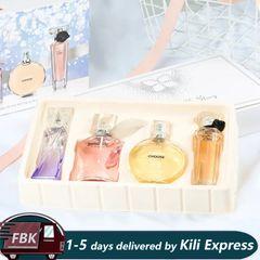Women's Perfume  Ladie Eau Perfume   Long Lasting Natural Body Deodorant-25ML*4PCS as pictures