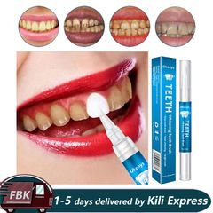 Whitening Pen Remove Plaque Stains Dental Tools Whiten Teeth Oral Hygiene Tooth Whitening Pen Blue 3g