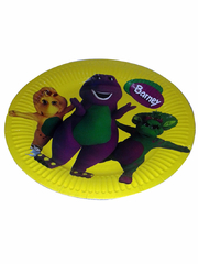 Disposable party items with themed characters for children party's