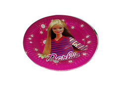 Disposable party items with themed characters for children party's.