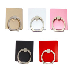 Pack 0f 5! Finger Ring Stand Universal 360 Rotation Lazy Bracket Adhesion  colour mixture colour mixture Pack of 5