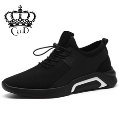 Ca.D Cool Men shoes running men's sports shoe warmth Breathable fashion Casual Shoe with gift black a 40