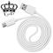 Ca.D USB Charging Cables for Android Phones 100cm Only for charging white 100 cm