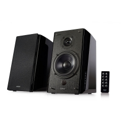 Edifier  Bluetooth Bookshelf Speakers - Near-Field Studio Monitors - - 5  Subwoofer - 120 Watts black