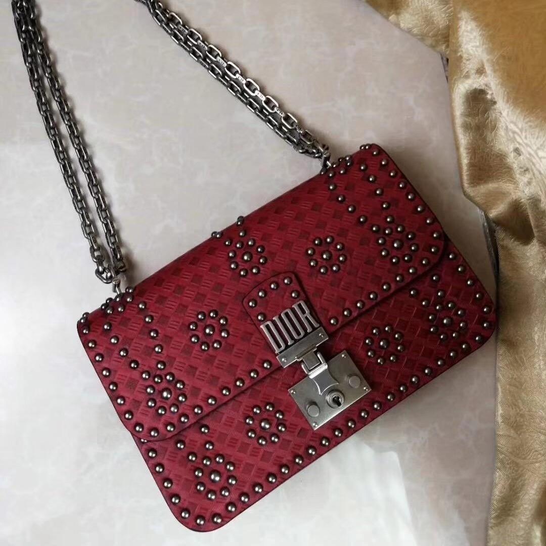 2823bee8f87e 2018 Dior Addict Handbag Women Bag Latest Fashion Luxury Genuine Leather  woc flap Tops red 21 13 8cm  Product No  1534259. Item specifics  Brand
