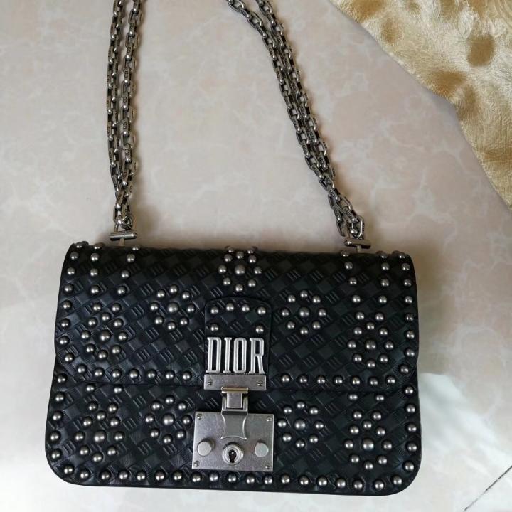 f2cd0c34220f 2018 Dior Addict Handbag Women Bag Latest Fashion Luxury Genuine Leather  woc flap Tops black 21