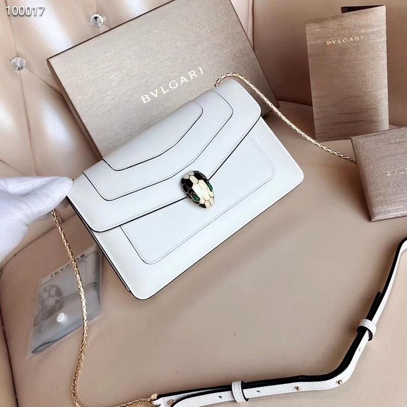 ec5cf839c8d6 2018 BVLGARI Handbag Women Bag Latest Fashion Luxury Fashion Genuine  Leather Flap Dior Tops white 22 13 5cm  Product No  1540221. Item  specifics  Brand