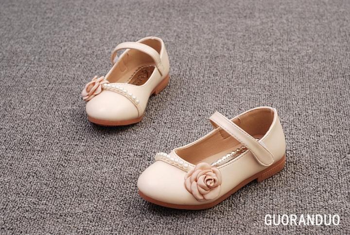 Kilimall  Fashion spring autumn kids shoes flowers princess ... f1e50b56ea7b