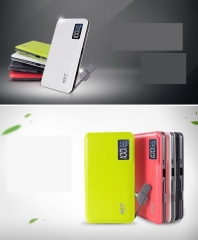 2018New External dual USB portable battery power bank Red Uniform