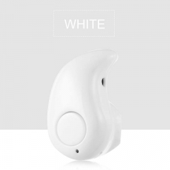 Mini Wireless Bluetooth earphone Blutooth headset Stereo headphones Earpiece Small Sports Cordless white