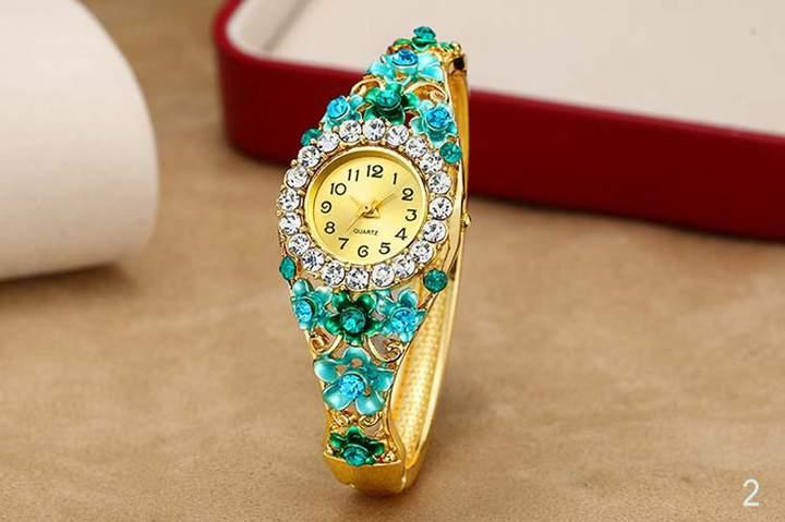 Fashion Bracelet table Women's Watch Fashion Watch Quartz Bracelet Diamond ornament Watch 2015-2
