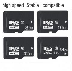 Digital High Speed C10-3.0  Storage Card16G Phone Memory Card micro sd TF Card black memory card 16G tf card