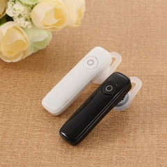 Mini Wireless Bluetooth headset Sports Bluetooth Earphones  Headphones white.