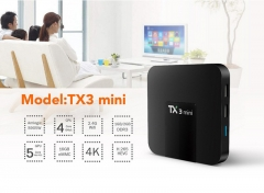 TX3 mini S905W 2g/16g High definition network set-top box Android 4K player Android 7.1