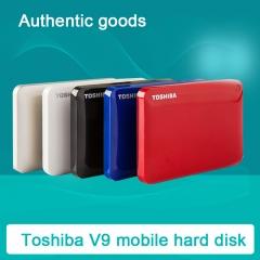 Toshiba V9 2.5 inch high-speed transmission of mobile hard disk 1T 2T 3T harddisk Color random delivery 2tb
