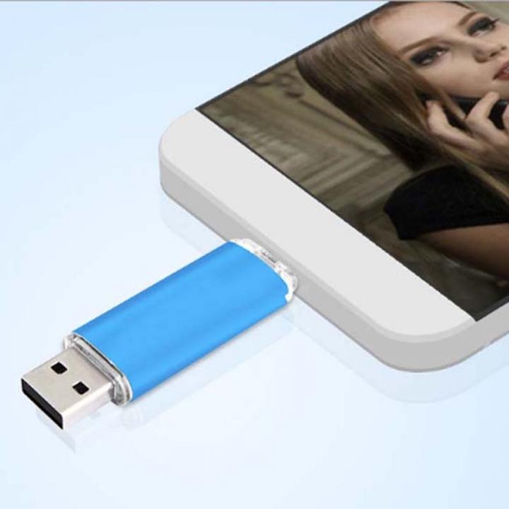 32GB 2 In 1 Micro USB OTG USB flash disk High Speed Phone flashdisk flash drive red ph-3201 32g flash disk