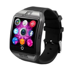 Q18 smart watch Bluetooth plug-in card Smartwatch intelligent Bluetooth call Watch black Q18