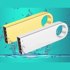 2019 Mobile Week New metal waterproof 8G 16G 32G 64G high speed flash disk  flash drive flashdisk golden c3 32G