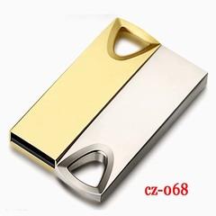 Metal waterproof flash disk 32G high speed U disk flash drive flashdisk Memory Card USB Adapte golden cz-068 32G flash disk