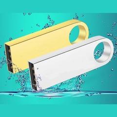 This year's new metal waterproof 32G high speed flash disk flash drive flashdisk U disk golden CZ-068 32g