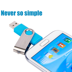 Mobile phone rotary 32G flash disk computer dual purpose android high speed flashdisk flash drive white ph-003 32g flash disk