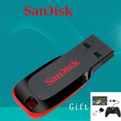 SanDisk 32G 64G ultra thin and mini mobile high speed flash drive flash disk flashdisk U disk as shown sd-002 32G
