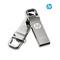 Metal rotating flash disk 32G business gifts creative flash disk flashdisk  U disc silvery 005 32g