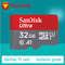 Sandisk High Speed Class 10 TF MicroSD Card 32G Memory Card Red Micro sd as show sd-32 32G Sandisk Memory Card