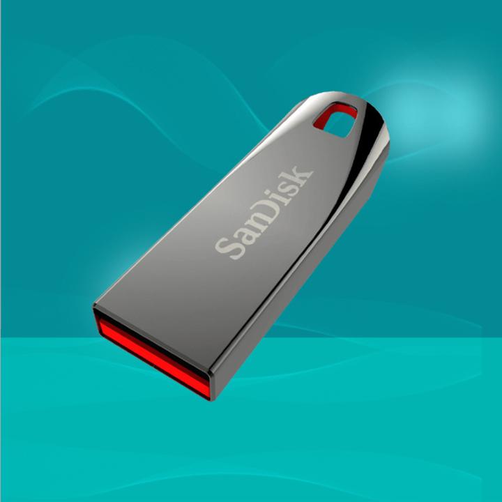 SanDisk Cool crystal flash disk CZ71 16G 32G 64G  flashdisk flash drives pen drive silvery 005 32G