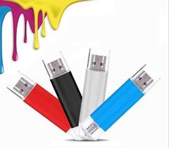 Mobile phone dual purpose OTG USB Android plug 64G flash disk  flashdisk  flash drive red yd-09 64G