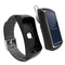 Smart Bracelet Bluetooth headset two in one sports health smart phone watch bracelet Earphones white