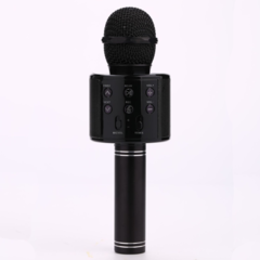 Mobile phone speaker system home audio integrated music live music Bluetooth wireless microphone black 5w WS858