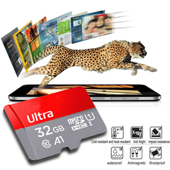 High Speed Class 10 TF MicroSD Card 32G Memory Card Red Micro sd Memory Cards Red&gray Memory Card 32G