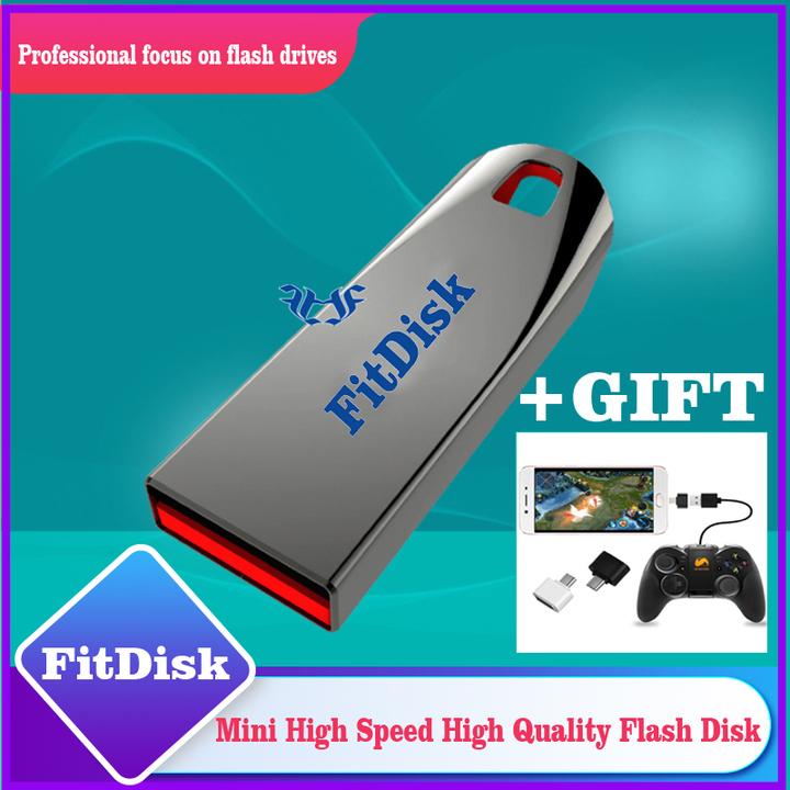 Mini Cool crystal flash disk 32G 64G  flashdisk flash drives pen drive silvery 005 64G