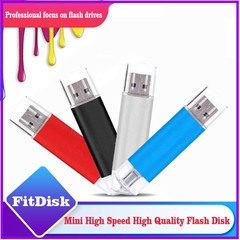 Mobile phone dual purpose OTG USB Android plug 32G flash disk  flashdisk  flash drive silvery yd-09 32G