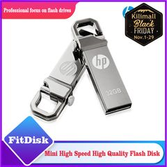 Metal rotating flash disk 32G business gifts creative flash disk flashdisk  U disc silvery 005 32g