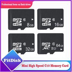 Digital High Speed C10-3.0  Storage Card 4G 8G 16G 32G 64G 128G Phone Memory Card micro sd TF Card black Memory Card 64G Memory Card