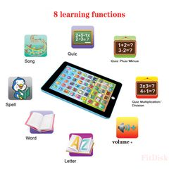 Kids Toys Electronic Early Educational Learning Machine Toy Gift Electronics for Kids as show 1