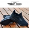 fashion breathable ladies shoes shallow mouth casual flat with ladies sports shoes solid color black 39