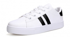 fashion women's casual shoes breathable comfort sports shoes white 35