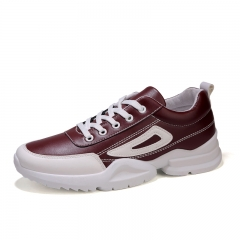 Men's and women's comfortable sports shoes for men and women fashion casual shoes red 38
