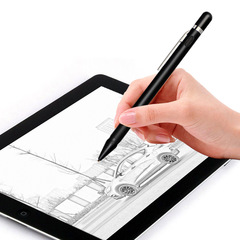Active Capacitor High Precision Thin Head Touch Tablet Mobile Phone Universal Painting Stylus black 146mm